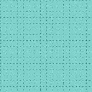 Aqua Dot Grid