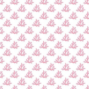 coral pink ~1 x3/4 inch