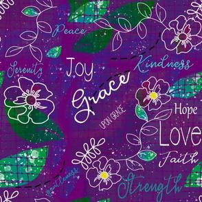 Flowering Purple Grace