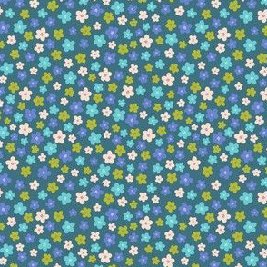 Bright Ditsy Floral