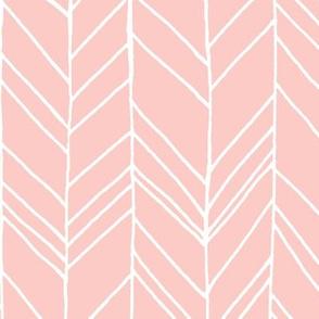 Featherland Rose Quartz/White (X-LARGE)