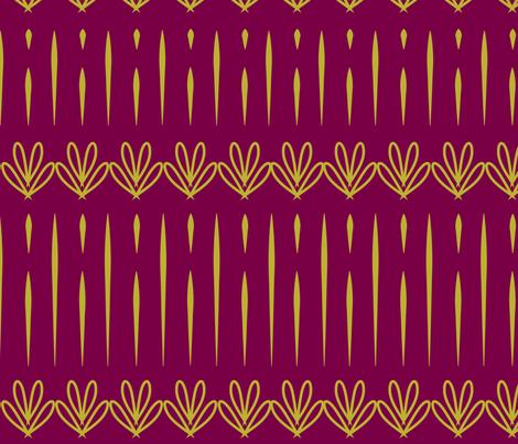 Modern Art Deco fabric by kittycoonundrum on Spoonflower - custom fabric