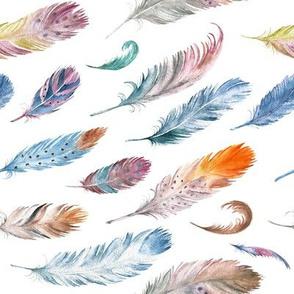 Bohemian Gypsy Feathers