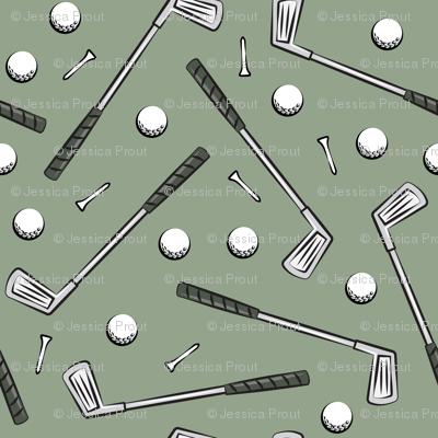 golf clubs - sage