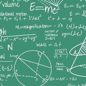 Common Equations - Aquamarine // Large
