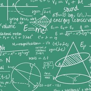 Common Equations - Aquamarine // Small