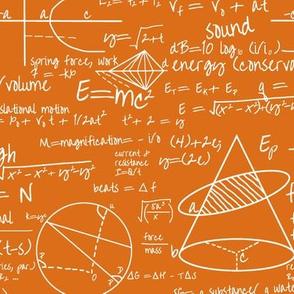 Common Equations  - Orange // Small