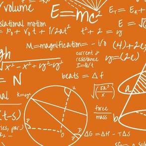 Common Equations - Orange // Large