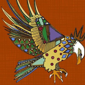 jewel eagle rust