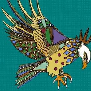 jewel eagle turquoise