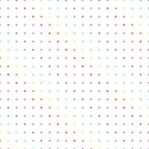 Rainbow Dot Grid