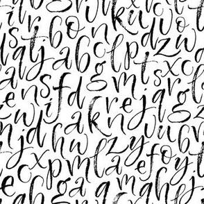 Ink alphabet