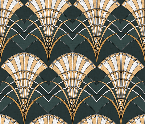 Art Deco colo ph3 copy fabric by les_motifs_de_sarah on Spoonflower - custom fabric