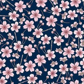 Sakura - Navy