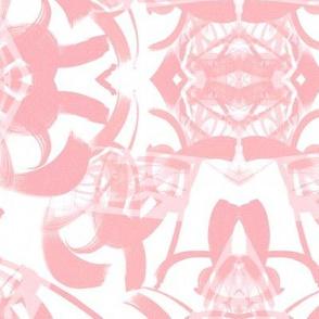 Pink and white large Tokyo Boho