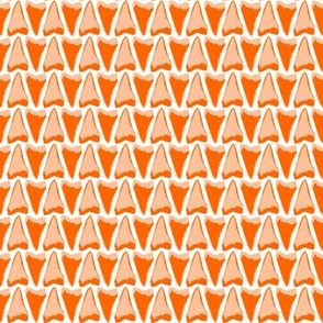 shark teeth orange