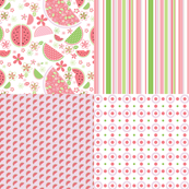 Watermelon Pink Fat Quarter