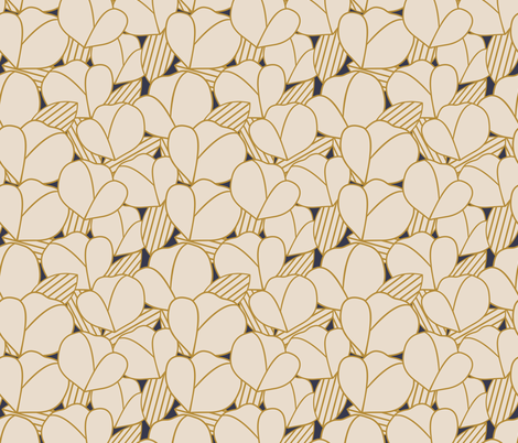 Roarin' Floral fabric by brendakbird on Spoonflower - custom fabric