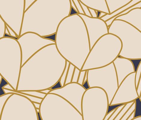 Roarin' Floral fabric by brendakbird on Spoonflower - custom fabric