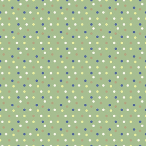 Spots on green