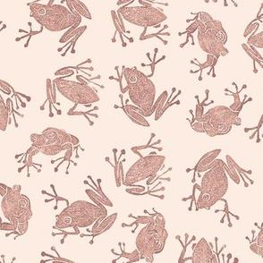 terracotta frogs