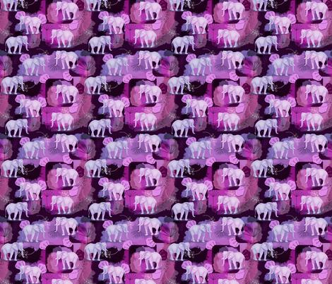 Elephant Wishes fabric by lilly_lynne_designs on Spoonflower - custom fabric