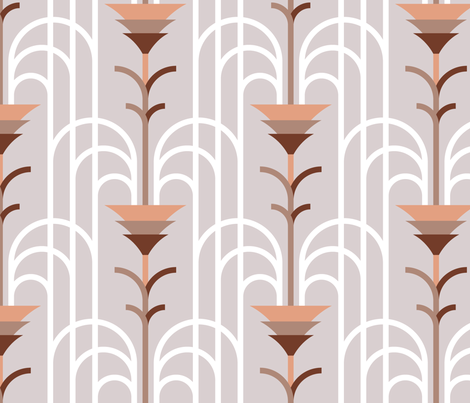 Cascade Infinie fabric by jjtrends on Spoonflower - custom fabric