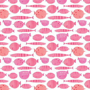 Fishy Friends Pink