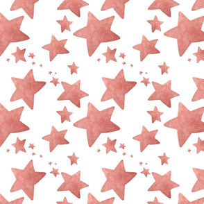 Faded Stars Red