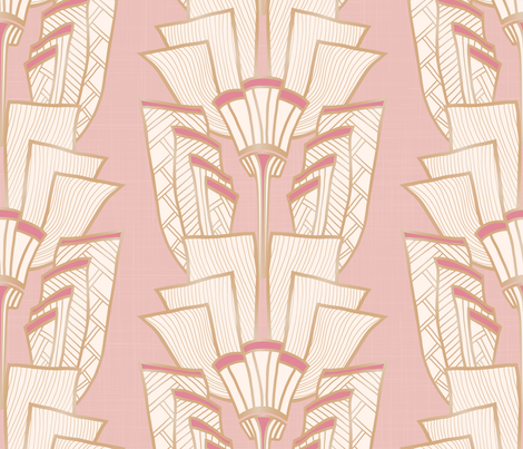 Art Deco Dreams fabric by docious_designs_by_patricia_braune on Spoonflower - custom fabric