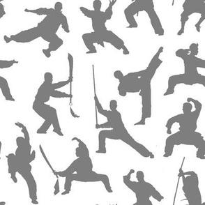 Shaolin Kung Fu // Grey // Small