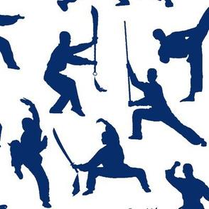 Shaolin Kung Fu // Dark Blue