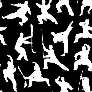 Shaolin Kung Fu // Black // Small