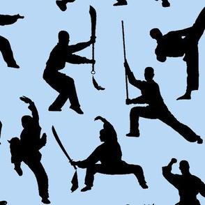 Shaolin Kung Fu // Light Blue