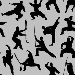 Shaolin Kung Fu // Silver // Small