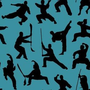 Shaolin Kung Fu // Teal // Small