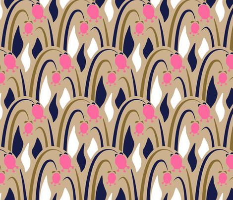 ArtDeko3-gro fabric by design_d´annick on Spoonflower - custom fabric