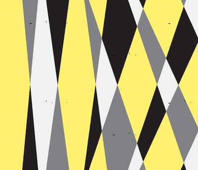 Skylights Art Deco Stripes-yellow grey