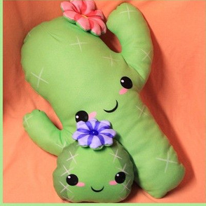 Cuddly Cactus Cut-and-Sew