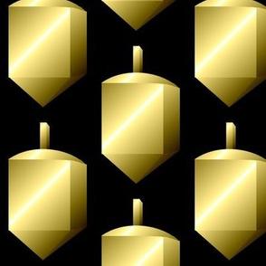 Dreidels, Gold