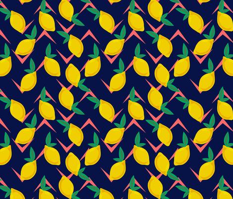 Lemon Drop - Large Scale fabric by lapetitelecour on Spoonflower - custom fabric