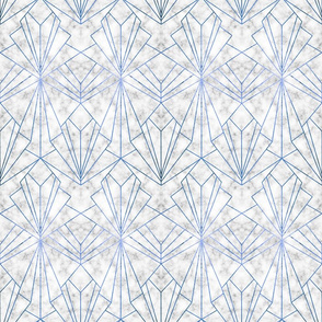 Art Deco Marble & Blue