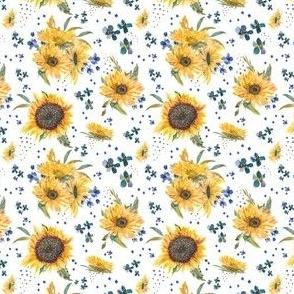 sunflowers tiny
