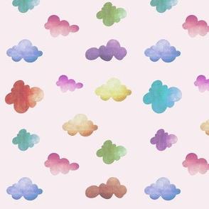 Cloudy feelings pink