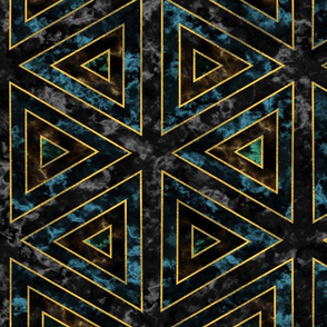 art deco marble pattern (dark)