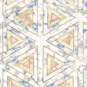 art deco marble pattern (light)