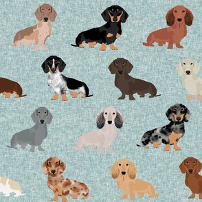 dachshund pet quilt b dog breed silhouette quilt coordinates multi coat