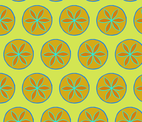 compass pillow fabric-01 fabric by kristin_nicholas on Spoonflower - custom fabric