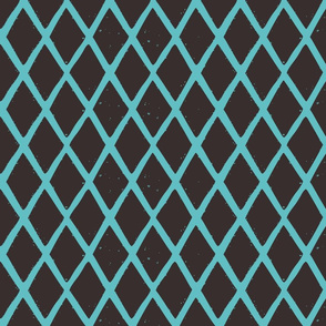 diamonds blockprint pattern fabric-01