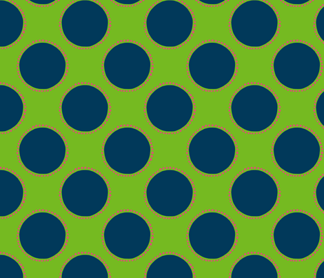 Large Polka Dot fabric template caph-01 fabric by kristin_nicholas on Spoonflower - custom fabric